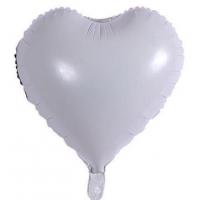18 İnç Kalp Beyaz Folyo Balon