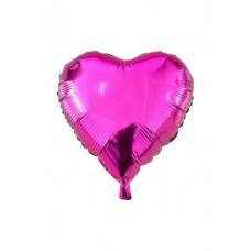 18 İnç Kalp Pembe Folyo Balon