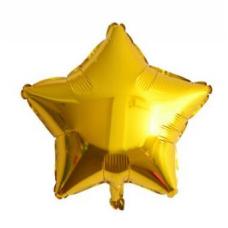 24 İnc Yıldız Gold Renk Folyo Balon