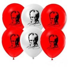 Atatürk Baskılı Balon