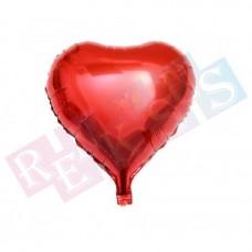 18 İnç Kalp Kırmızı Folyo Balon