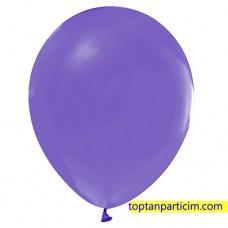 Mor Metalik Balon