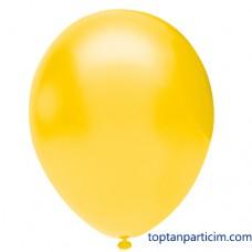 Sarı Metalik Balon