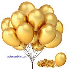 Gold Metalik Balon